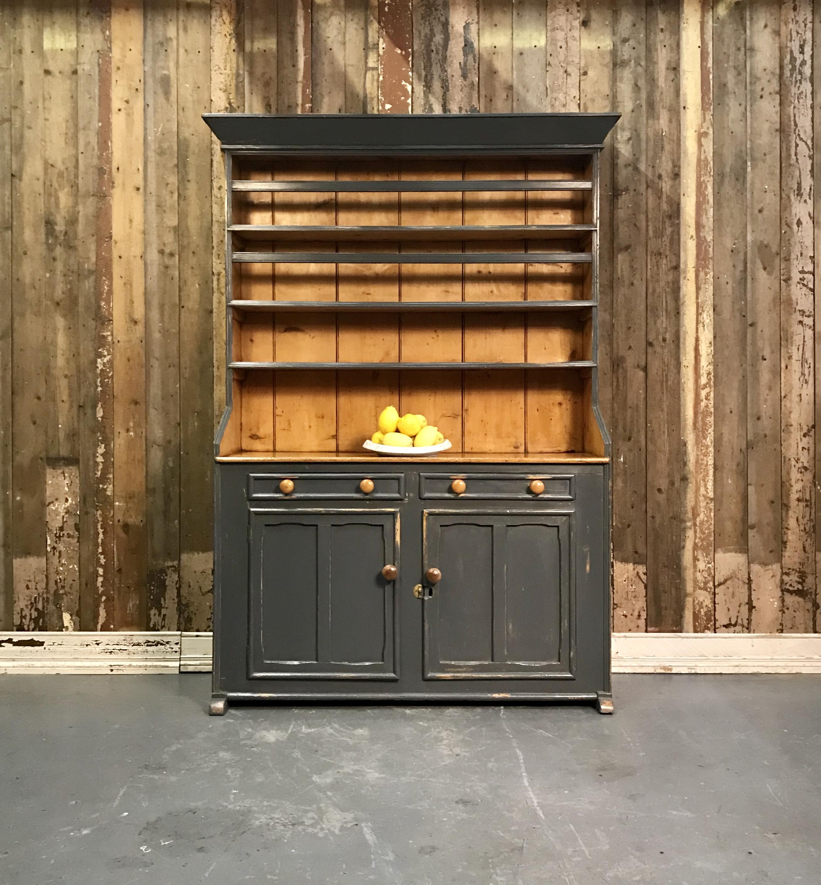 Picture of: Antique Irish Pine Dresser